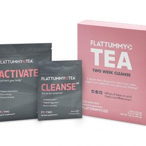 Flat tummy tea packages