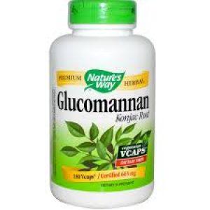Glucomannan bottle