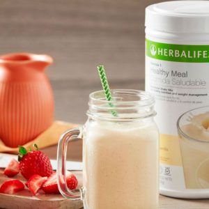 Herbalife strawberry smoothie