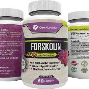 Forskolin bottle