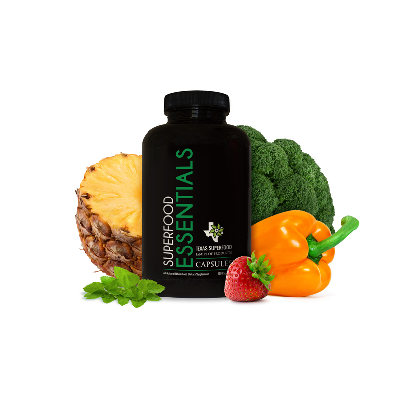 Texas superfood product veggies