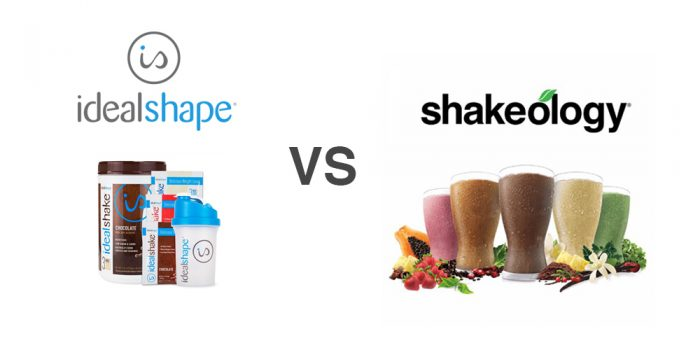 Idealshape vs shakeology